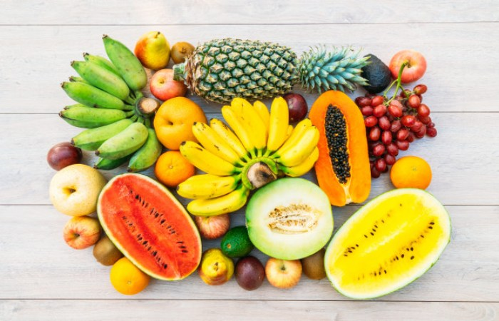 Fruits with more calories